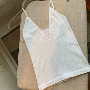 Free People Women's White Tank Top Size Small